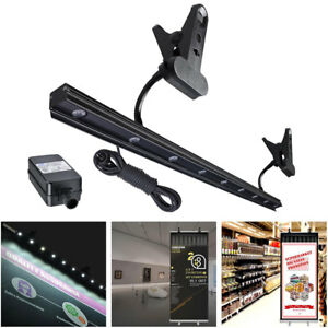 LED Light for Retractable Roll Up Banner Stand IP65 Clip On Display Trade Show