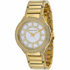 Gold Plated Band Polished Wristwatches