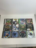 Playstation 1 (PS1) Video Game Lot Of 12 -  Varying Conditions - Free Shipping