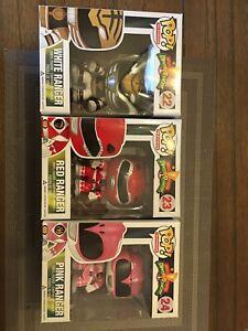 Mighty Morphin Power Rangers Funko Pop Lot 22,23,24
