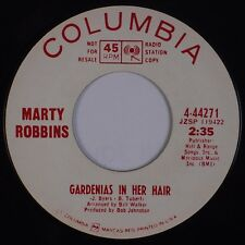 MARTY ROBBINS: Gardenias in Her Hair / In Valley Rio Grande COLUMBIA DJ 45 NM-