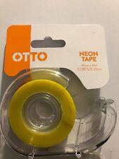 OTTO Neon Tape 18mm x 33m core size 25mm - #A19