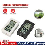 Digital Temperature Humidity Meter Sensor Thermometer  Gauge LCD Hygrometer-Room