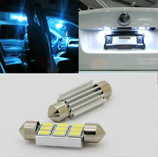 2PCS 41mm 5630SMD Canbus 9LED Interior Festoon Map Dome No.Plate Light White