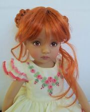Monique Lucky Wig 7/8 for Little Darlings Kish BJD BJD Ellowyne Liz Frost Red