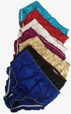 Women's Frilled Satin Knickers French Panties Men's Silky Soft Underwear Breifs