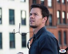 MARK WAHLBERG Signed 8x10 Photo PSA/DNA #AD11419