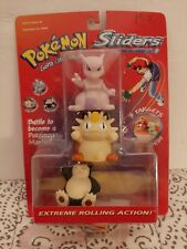 Pokemon Sliders Extreme Rolling Action 1999 Movie Meowth/Mewtwo/Snorlax RARE