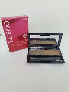 New in Box Shiseido Eyebrow Styling Compact No. BR602 Medium Brown, 0.14 oz