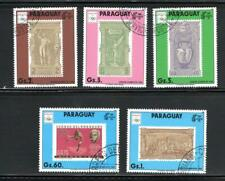 KL5498 1986 Paraguay #2312-3 Complete Set of 5 Different - 1896 Athens Olympics