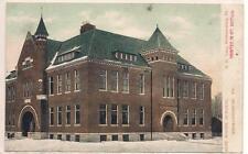 Mechanicsburg PA Cumberland  County Postcard High School Colored