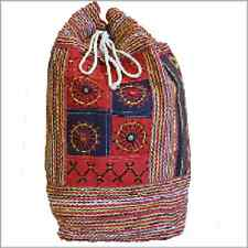 UNISEX Nepal Duffle Bag - Décor Panel-travelling duffle bag.drawstring,TOGGLE