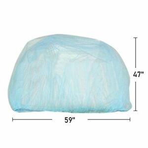 """Baby Mosquito Insect Netting For Stroller, 59""""x47"""" with Blue Pink Jingle Be"""