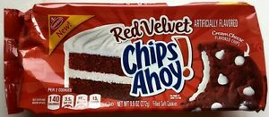 NEW Nabisco Red Velvet Chips Ahoy Cream Cheese Cookies FREE WORLDWIDE SHIPPING
