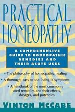 Practical Homeopathy, McCabe, Vinton, New Book