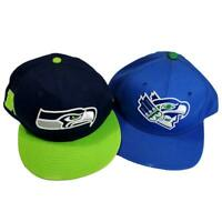 Seattle Seahawks 12th Man Hat New Era Snapback Cap 9/Fifty NFL Football Med Larg