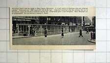 1957 Bus Shelter In Albert Square Manchester