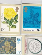 PHQ CARDS 10 MINT SETS FROM THE 1970'S CAT VALUE £108+