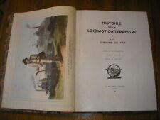 "TRAIN HISTOIRE CHEMIN de FER AVANT  SNCF GROS OUVRAGE  ""L'ILLUSTRATION"" 1935"
