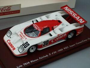1/43 True Scale LOLA T810 NISSAN FAIRLADY Z #30 WEC JAPAN 1985