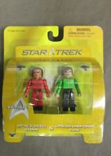 Star Trek Mini Mates Space Seed Khan & Dress Uniform Kirk Series 3- NEW