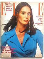 ELLE Magazine N°1372 Avril 1972 Collector VINTAGE 1970. Mode, JC Brialy.