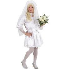 Brautkleid Kostüm Herren XL Kleid Haarschmuck Strumpfhose Junggesellenabschied