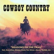 Cowboy Country: Shadows On The Trail [CD]
