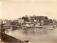 Grèce, Corfou, la nouvelle forteresse  Vintage albumen print Tirage albuminé