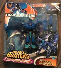Transformers Beast Hunters Voyager Cryofire Predaking