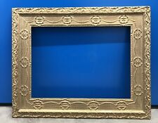 Gilded Wood Plaster Picture Frame For Oil Painting Rebate 50x36.5cm