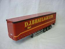 Corgi Modern Truck/Heavy Haulage D.J.B Haulage Vinyl Curtainside Trailer