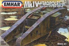 EMHAR 5005 - WW1 MkIV 'Tadpole' With Rear Mortar          1:72 Figures-Wargaming