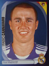 Panini 336 fabio cannavaro real madrid uefa cl 2007/08