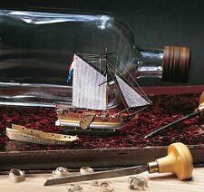 Amati Golden Yacht Ship in a Bottle (1350) Model Boat Kit