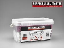"""1/8"""" T-Lock Tile Leveling System KIT - floor & wall Perfect Level Master spacers"""