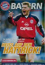 Programm 2000/01 FC Bayern München - VfL Bochum