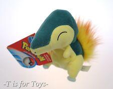 "CYNDAQUIL Pokemon Plush 5"" Soft Hasbro Figure ""NEW"""