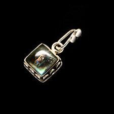 "Labradorite 925 Sterling Silver Pendant 1"" Ana Co Jewelry P733796F"