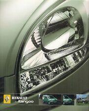 Renault Kangoo Estate 2004-05 UK Market Sales Brochure Trekka Venture Expression