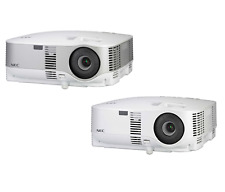 Nec Vt800 or Np901W 2000/2700 Lumen Lcd Projector with Built-in 5W Mono Speaker
