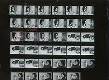ALAIN CHAMFORT 70s PLANCHE CONTACT AVEC 35 NEGATIFS VINTAGE PHOTO ORIGINAL  #2