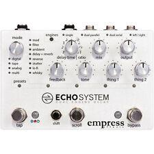 Empress Effects Echosystem Dual Engine Digital Delay Guitar Effects Pedal +Picks