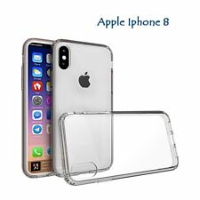 Ultra Slim Thin Silicone Gel Crystal Clear back case Cover for Apple iphone 8