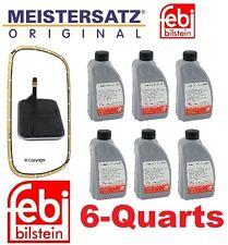 6-Quarts Fluid & Transmission Filter Kit E46 323 325 330 E39 X3