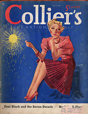 1938 Colliers July 9 - Fireworks; Looney Lew Lehr; Alan LeMay; Coal Act; Lockjaw