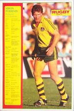 Simon Poidevin Australia Rugby Team Poster