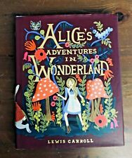 ALICE'S ADVENTURES IN WONDERLAND Lewis Carroll Anna Bond HB/DJ