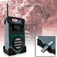 Outdoor Garten Werkstatt Baustellen Radio USB AUX LCD Display Clatronic BR 836