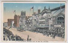 USA postcard - The Coliseum, Wabash Avenue & 15th Street, Chicago